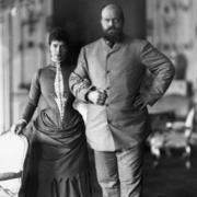 В 1866 году будущий император Александр III был помолвлен в Копенгагене с датской принцессой Дагмарой