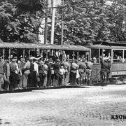 Первый в Российской Империи электрический трамвай