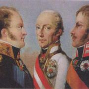 В 1815 году в Париже Австрия, Пруссия и Россия заключили Священный союз
