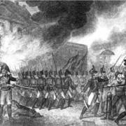 британские войска сжигают Белый Дом