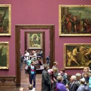 """В 1955 году """"страна, вышедшая из войны победителем, возвратила побежденной стране сокровища искусства, попавшие в её руки"""""""