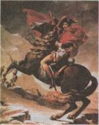 Наполеон на Сен-Бернарском перевале, 1801. Жак Луи Давид