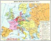 Европа после Венского конгресса, 1815