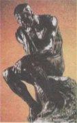 Мыслитель, 1880. Огюст Роден (1840—1917).