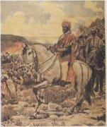 Император Менелик II лично руководит действиями своей армии. В битве под Адуа итальянцы из 17 тыс. солдат потеряли 11 тыс. убитыми и ранеными. В борьбе за целостность своей страны Менелик II старался опереться на Россию. Последняя, в свою очередь, была заинтересована в сильной независимой Эфиопии.