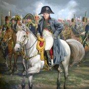 Наполеоновские войска при приближении к Бородино