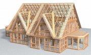 Рассмотрим преимущество строительства каркасных домов
