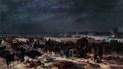 Березинская переправа - трагический момент в отступлении французской армии