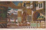 Дворец Черномора с колоннадой