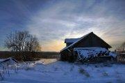 Северный русский пейзаж