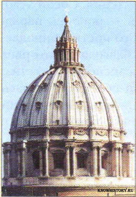 Микеланджело. Купол собора Св.
